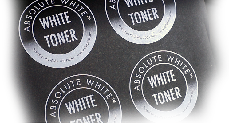 The Power to Print White on Clear or Dark White Full Color